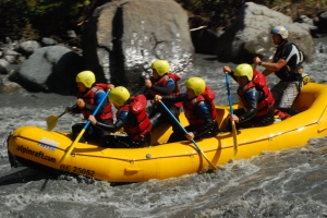 River Rafting in Interlaken, Switzerland